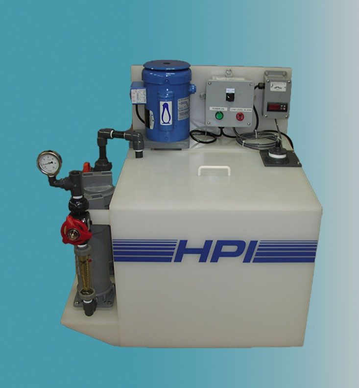 Recirculating Filtration Tank