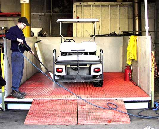 Custom Wash Bay Systems Heavy Equipment Washing Hpi